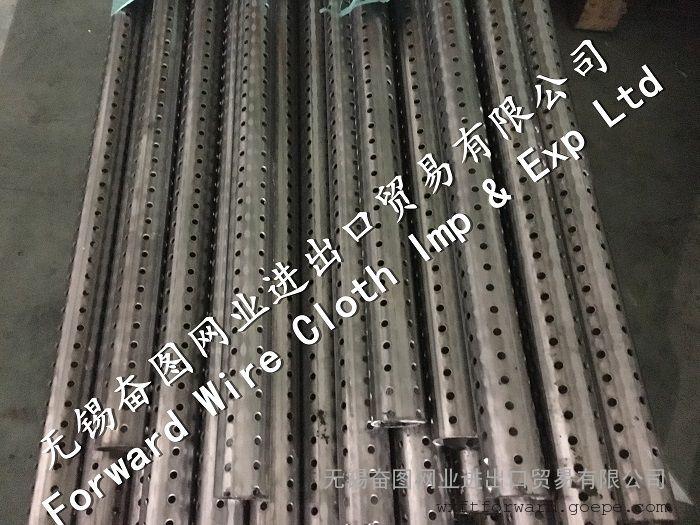 不锈钢304冲孔管 焊管 多孔管 无锡奋图网业