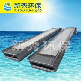 GSHZ-700回转式格栅清污机安装方式