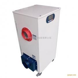 东莞微型转轮除湿机批发,除湿量0.6kg/h,低湿仓库抽湿机厂家