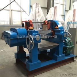 锦九洲360型14寸硅胶辊筒镜面处理开放式炼胶机