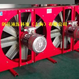 剑邑ELB-12-A3大功率大流量耐高压型液压风冷却器液压散热器
