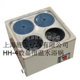 山西旌派数显电热恒温水浴锅HH-4生产厂家