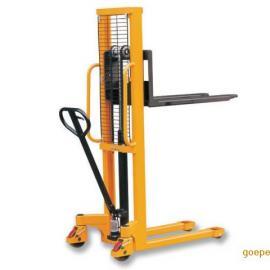 手动叉腿叉车 堆高车 液压升降式堆高装卸车