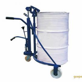 手动油桶搬运车 叉车 液压三支点多走向油桶小叉车