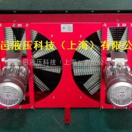 ELB系列大流量双风机型液压油风冷却器风冷式液压散热器