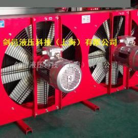 剑邑ELBS-4-A3矿山设备润滑站专用风冷式油冷却器 稀油站冷却器