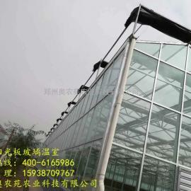 奥农苑温室工程之陕西铜川连栋玻璃温室大棚案例分析