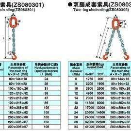供应单腿成套链条索具,江苏正申索具有限公司,产品质量保证