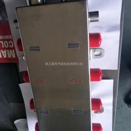 水力平衡分压器 地暖供暖制冷水力分压