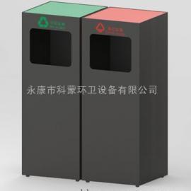 精品定制垃圾桶 钢制方形垃圾桶 高档不锈钢垃圾桶