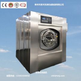 洗涤厂用大规格的洗脱机和烫平机
