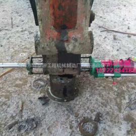挖机便携式镗孔机械