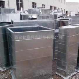 西安专业安装圆风管案例