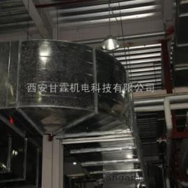 西安矩形风管安装技术