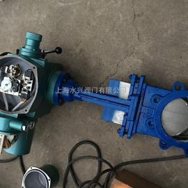 PZ973H-10C硬密封开关型电动刀闸阀(浆液阀)