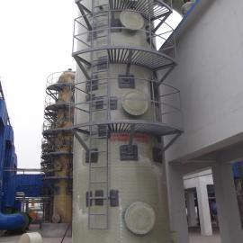*生产碳素厂 砖厂 隧道窑脱硫塔 材质玻璃钢