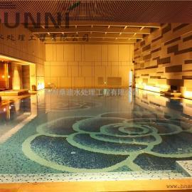 河南郑州茉莉公馆无氯复合恒温恒湿游泳池