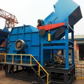 山东腾跃新型废钢破碎机、大中小型金属破碎、废铁破碎机生产线