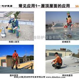 应用于屋面的水平生命线系统安装