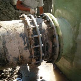 金泽直径3米玻璃钢预制泵站进水口对接
