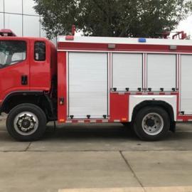 国五四驱森林水罐消防车