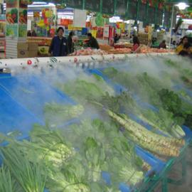 蔬菜喷雾加湿机器