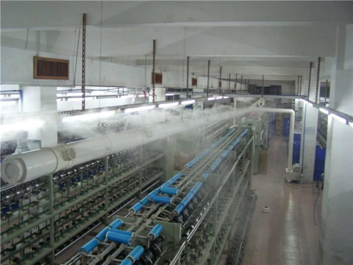 纺织行业喷雾加湿设备 纺织厂专用加湿器