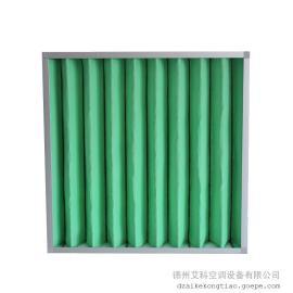 中级袋式空气过滤器,无尘车间初效过滤器