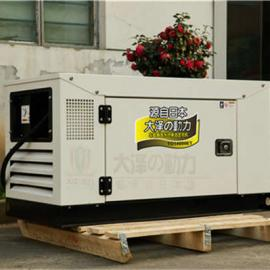 运输车载15千瓦静音柴油发电机