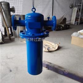 DN-150天然气管道除水除油用旋风挡板汽水分离器