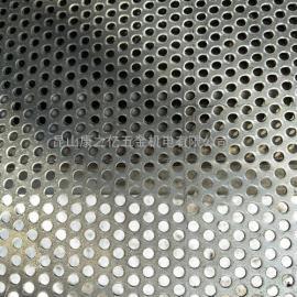 金属板网3mm厚304不锈钢冲孔网昆山冲孔网