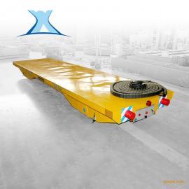 汽车配件重型轨道车无轨地爬车10吨无轨电动转运平车