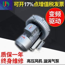 工厂批发直销流延薄膜设备专用高压风机涡流高压鼓风机价格