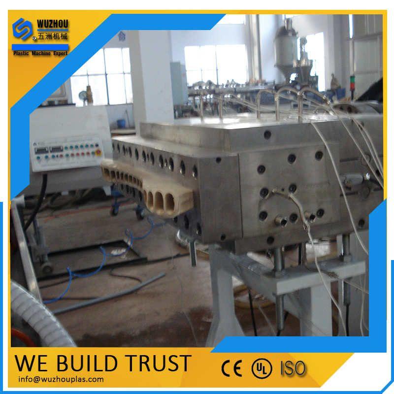 PVC生态木塑护墙板生产线
