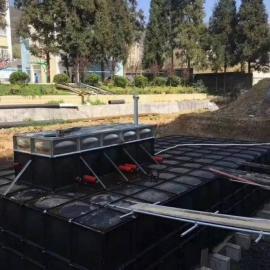 盐城抗浮埋地无横缝成型大模块泵站