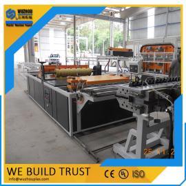 PVC+ASA塑料波浪瓦设备生产线