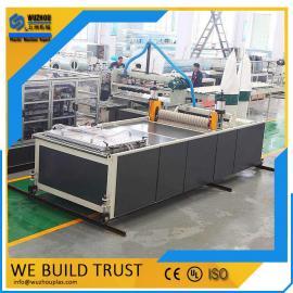 平改坡工程-合成树脂瓦机器设备