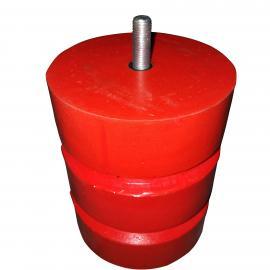 JHQ-A-21型 320*400聚氨酯缓冲器 起重机撞头 橡胶缓冲器
