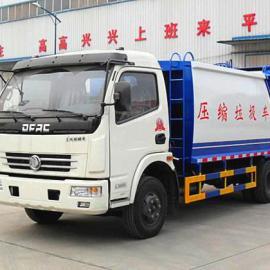 配合垃圾桶使用的密闭式压缩垃圾车价格