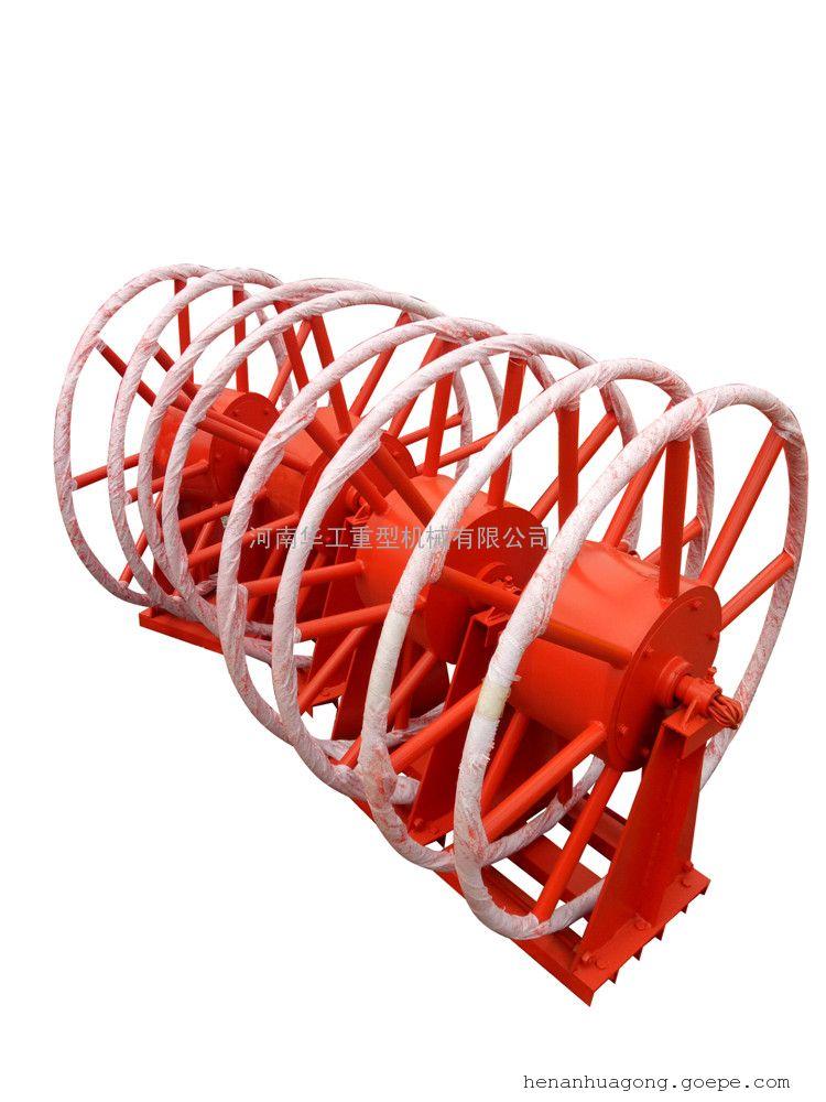 龙门吊电缆卷筒 水平卷取100米 平车供电卷线盘 非标定做