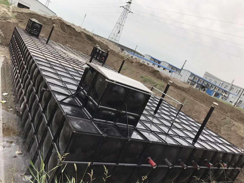 水池为装配式复合型SWV一体化泵站