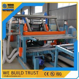 PVC木塑橱柜板家具板生产线设备