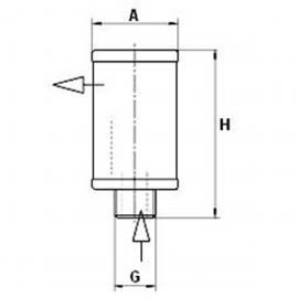 MANN-FILTER(曼牌滤清器)4900053171、4900052171油分芯