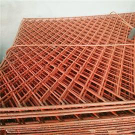 恩施钢笆工地脚手架踏板-喷红漆钢笆网片-厂家新一轮出厂报价