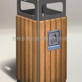 苏州景观垃圾桶、苏州景观果皮箱厂家、果壳箱定做、公园椅批发