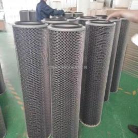 活性炭除尘滤芯 对接式粉体滤芯 工业除尘滤筒活性炭过滤器