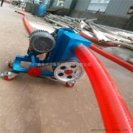 小麦装车装袋车载吸粮机 福建省石狮市6米长耐磨软管吸料机