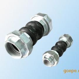 上海源昊国标JGD-B丝扣连接可曲挠橡胶接头型号齐全