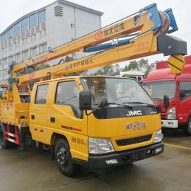 16米高空作业车厂家直销|16米路灯电力维修车全新配置和价格