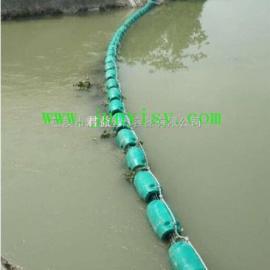 南昌河道拦截漂浮物塑料浮筒 直径400*1000垃圾拦截浮筒